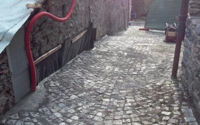 Scavo in presenza di amianto naturale – Abitazione privata Sauze d'Oulx