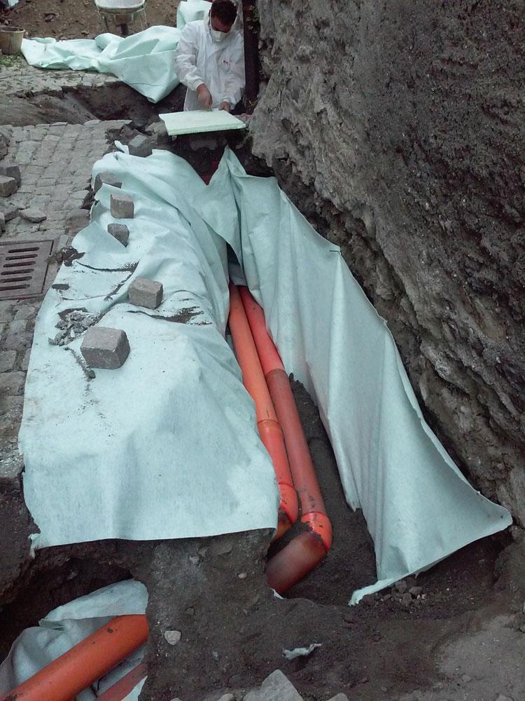 scavo lavoro amianto