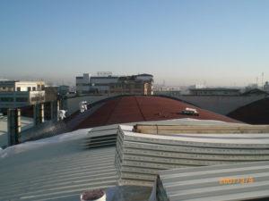 amianto compatto - tetto