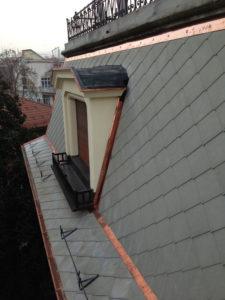 copertura abitazione con isolamento