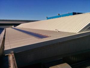 copertura industriale capannone