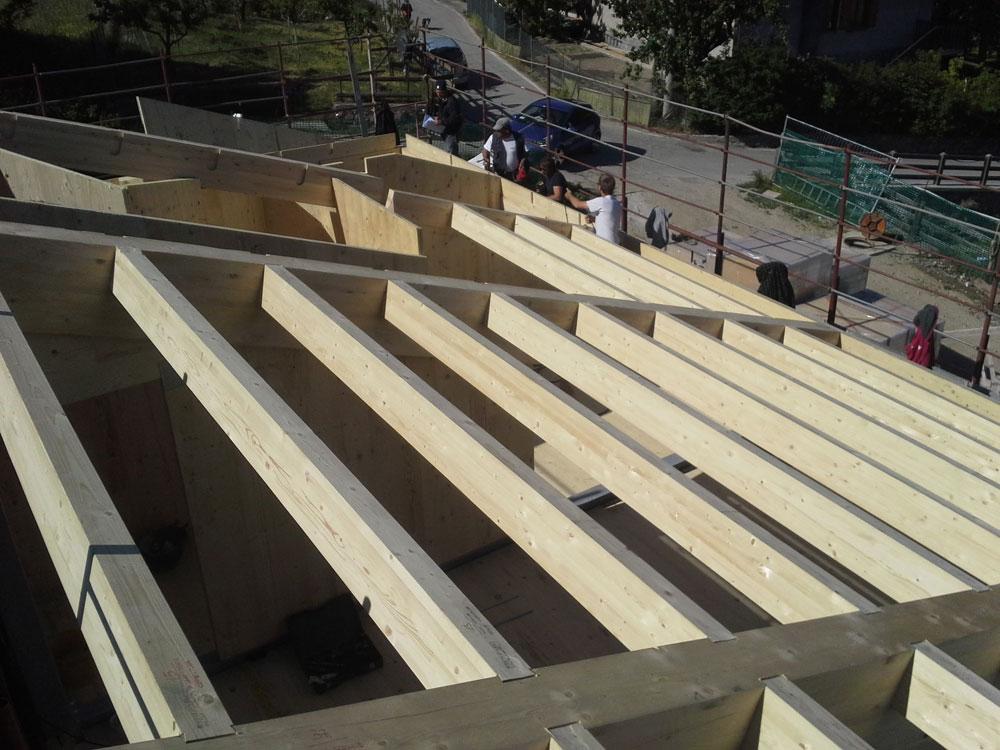costruzione copertura civile