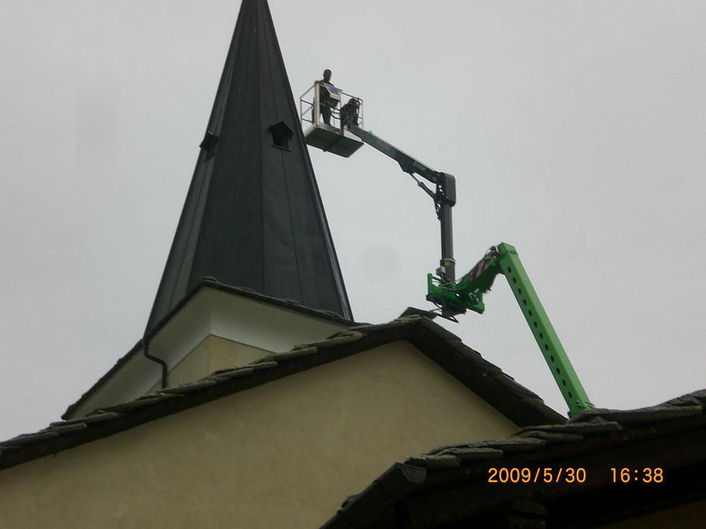 lavori manutenzione campanile