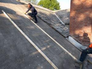 lavori per copertura abitazione
