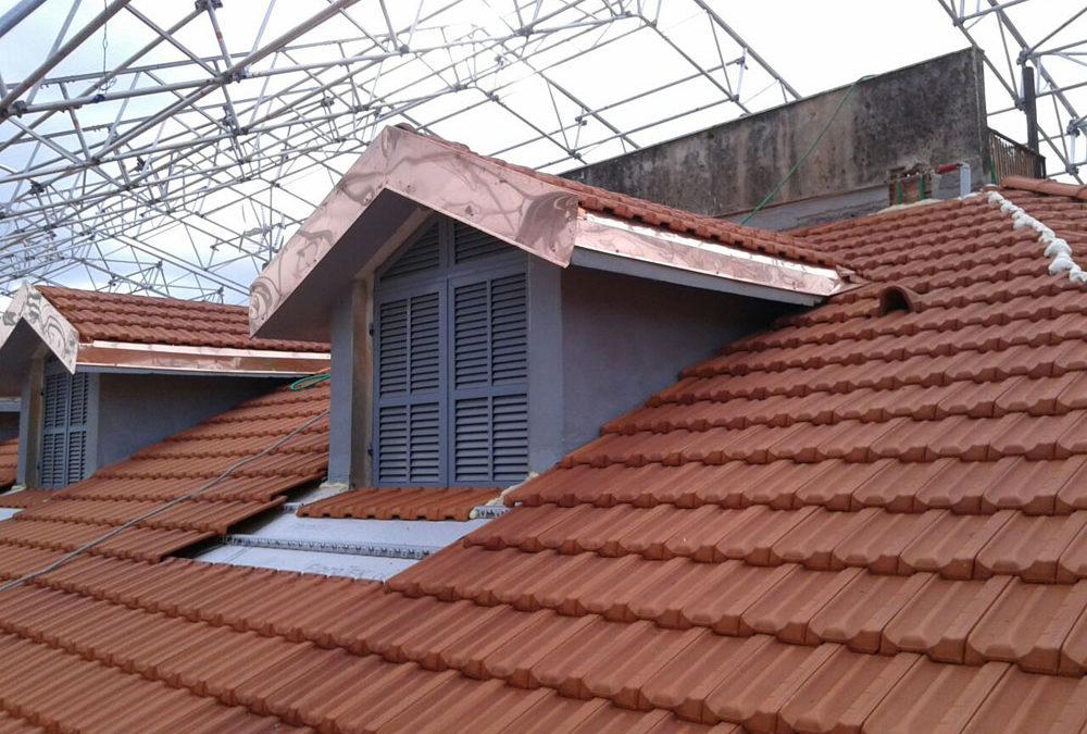 Rifacimento copertura con presenza di amianto friabile – Condominio Ventimiglia