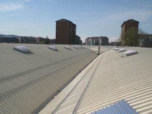 realizzazione tetto per azienda