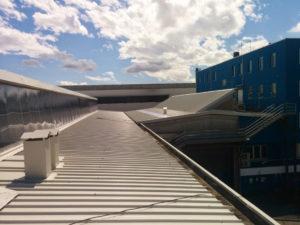 ristrutturazione copertura industriale - mamilo