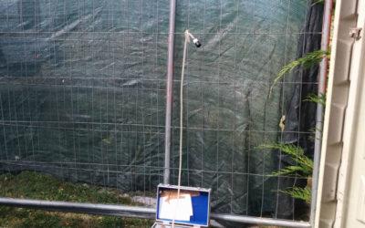 Scavo per ricerca e riparazione perdita acque potabili – Sauze d'Oulx
