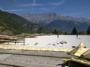 tetto capannone industriale