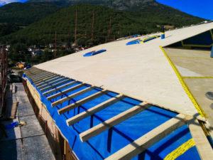 Costruzione copertura civile Aosta
