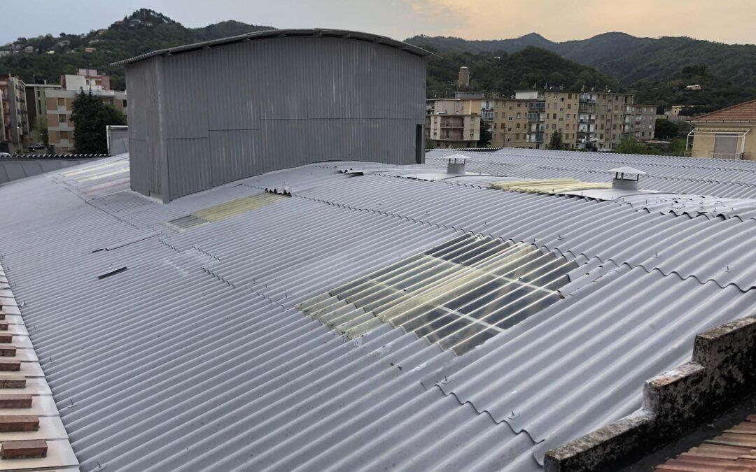 Messa in sicurezza eternit copertura e facciata – Albisola Superiore SV